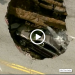 Gigantic Toledo Sinkhole Swallows Car!