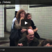 VIDEO-Man Eats Pasta Off Subway Floor