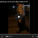 Officer Points Gun At Protesters And Threatens To Kill Them
