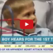 Deaf Boy Hears For The Very First Time, His Expression Is Priceless!