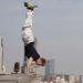 40-Story Ledge Handstand