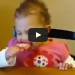 Sleepy Baby vs. The Popsicle, Cutest Thing Ever!