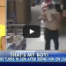Mom Sees Her Son Committing A Crime On Surveillance Camera, What She Does Makes Him Furious!