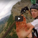 Man Almost Loses His Fingers When He Zips Down A Rusty Wire Bare Handed