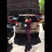 Crazy Woman Tries To Reserve Parking Spot With Her Body, Then Flips Out On Driver!