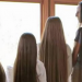 Mom And 3 Daughters Line Up To Show Off Their Hair, When They Turn Around…. Jaw Dropping!