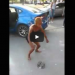 Crackhead Shows Off Her 'Whip And Nae Nae' Skills