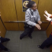 They're Alone In The Elevator, But When The Camera Catches Him Doing THIS It Goes Viral!