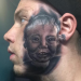 This 20 Year Old Dad Tattooed His Son's Face On HIS Face, Says He Can Live On Welfare