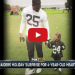 """Raiders Menelik Watson Gives Entire Game Check To 4 Year Old With """"Half A Heart"""""""