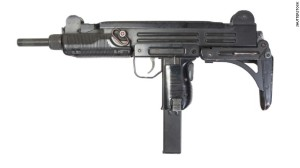 stock photo of uzi gun