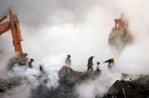 FDNY 9/11 heroes clean up scene