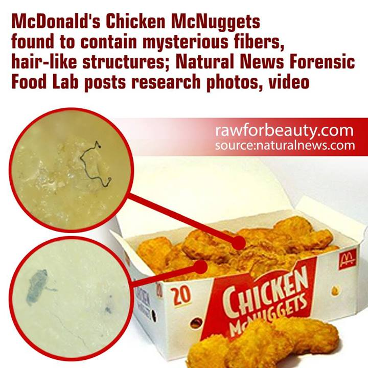 Chicken McNuggets Contain Only 40% Meat, Wait Til You See ...