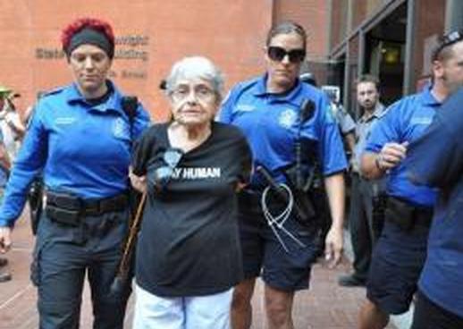 Holocaust survivor arrested in Ferguson