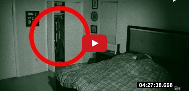 man captures haunting footage on camera