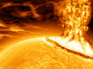 earth could have ended thanks to solar flare