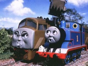 thomas the tank is a racist show