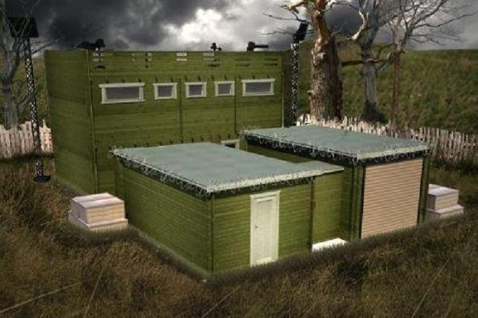 Zombie Proof Cabin Being Sold Online
