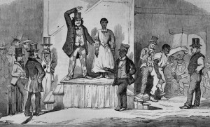 a Slave Auction in Richmond, Virginia 1853. The Illustrated London News (Sept. 27, 1856), vol. 29, p. 315.