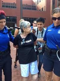 Holocaust survivor arrested