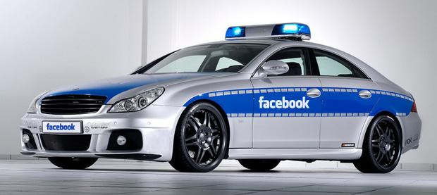 Facebook Police Car