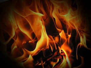 stock photo of fire