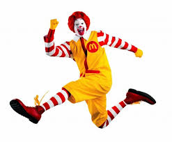 mcdonald's clown