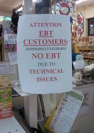 EBT not accepted