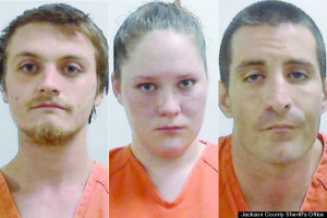 "mugshots of ""hostages"" high on meth"