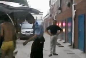 video-superman-thief-hospitalised-underpants-leap